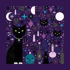 Carly Watts Art & Illustration: Halloween Kittens