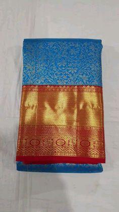 Kanjivaram Sarees Silk, Kanchipuram Saree, Bridal Sarees South Indian, Silk Sarees With Price, Wedding Silk Saree, Saree Blouse Designs, Saree Collection, Cook, Bride