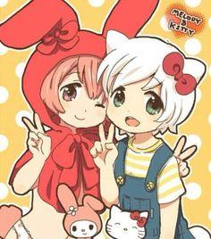 My Melody & Hello Kitty #Manga #Anime