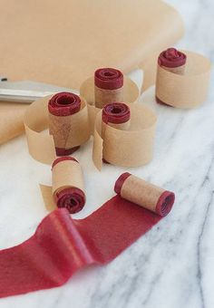 Homemade Raspberry Fruit Leather