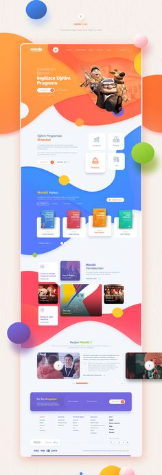 Minidil Website on Behance