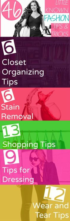 46 little known fashion tips and tricks by tina