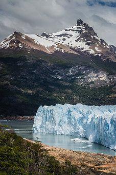 Gletscher Perito Moreno in Patagonien von Argentinien