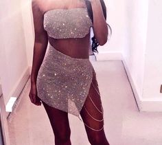 Excellence and culture ♥ ️✊ club outfits, boujee outfits, fashion outfits, Boujee Outfits, Rave Outfits, Fashion Outfits, Club Outfits For Women, Clothes For Women, Glitter Outfit, Going Out Outfits, Festival Outfits, Look Fashion