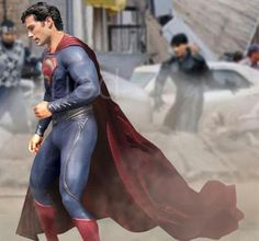 El nuevo Superman, en rodaje, me parece buena la elección de Henry Cavill (The Tudors).