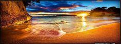 sunset sunrise on the beach