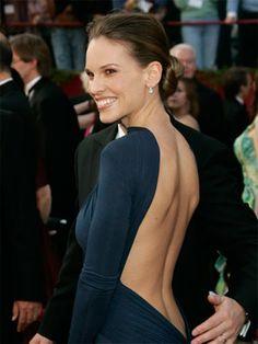 Hillary Swank by Guy Larouche at the Oscars 2005
