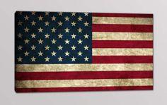 quadro moderno bandiera americana
