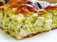 Torta de Abobrinha - Veja a Receita: