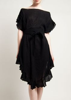 Infinite ruffle kaftan drses by Electric Feathers.