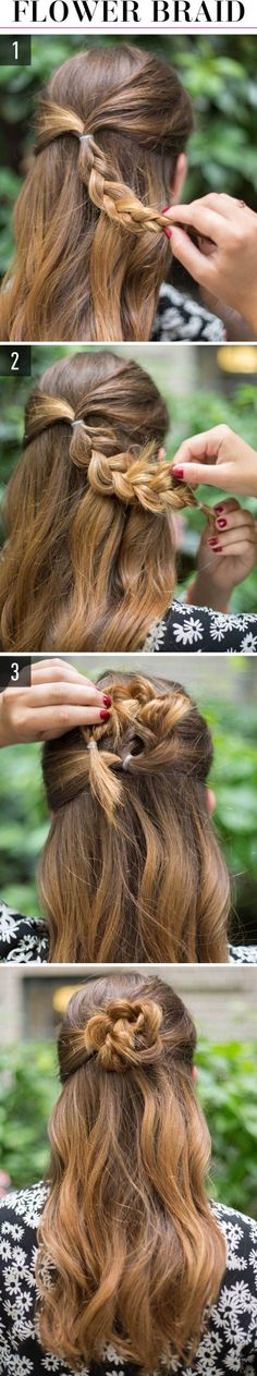 12 Adorable and Super-Easy Hairstyles for Lazy Girls Who Can't Even