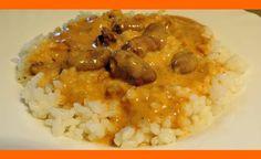 Perkelt z kuracích srdiečok s ryžou Risotto, Ethnic Recipes, Food, Red Peppers, Cooking, Essen, Meals, Yemek, Eten