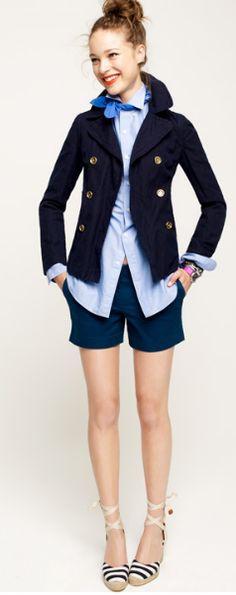 This will be perfect for when I am a sailor... or preppy.