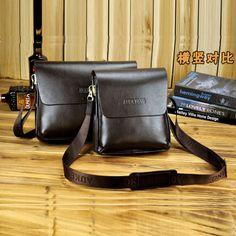 Men cowhide leather messenger sling shoulder casual cross body fashion cowskin boy pretty travel bag famous brand promotion sale $28.00 - 30.00