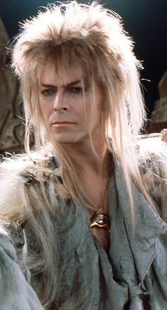 Goblin King Jareth - David Bowie - Yes kinda creepy but I had a crush on him when that movie first came out