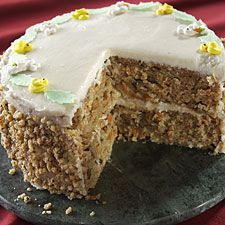 Sourdough Carrot Cake with Cream Cheese Frosting:  uses unfed starter