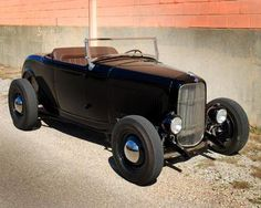 1932 Ford roadster Brookville steel body Flat head hot rod fresh build nice styled 32 ford