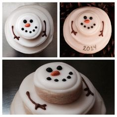 1000+ images about Christmas - Biscuits: Snowmen on ...