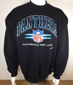 95762388c49 Vintage 1993 NFL Carolina Panthers Crewneck Sweatshirt Men's Size Large  Football