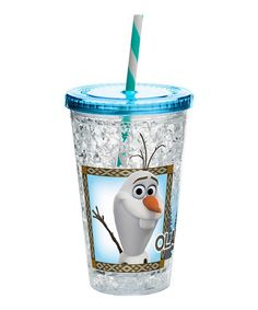 Another great find on #zulily! Frozen Olaf Chill 14.5-Oz. Tumbler #zulilyfinds