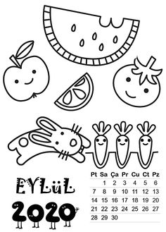 Fantastic No Cost 2020 September calendar Popular When you consider the item, most people obtain many unpleasant, and also excess baggage once we sugg Diy Hacks, Templates Printable Free, Printables, 2018 Calendar Template, Art For Kids, Crafts For Kids, September Calendar, Preschool Art, 9 And 10