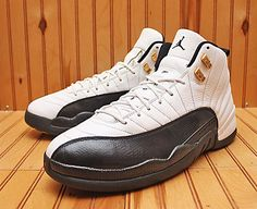 2008 Nike Air Jordan XII 12 Retro CDP Size 13 - White Black Taxi - 130690  109