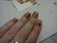 Jamberry Nails Flames.