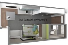 Micro-Apartments So Nice You'll Wish Your Place Was This Small - Eric Jaffe - The Atlantic Cities