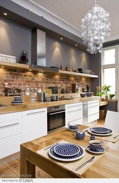 50 Best Kitchen Cabinets Design Ideas To Inspiring Your Kitchen 40 kitchen Modern Kitchen Interiors, Kitchen Diner, Kitchen Cabinet Design, Modern Kitchen, Kitchen Countertops, Farmhouse Kitchen Design, Home Decor Kitchen, Kitchen, Kitchen Interior