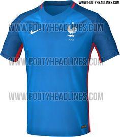 Desvelado el diseño de la camiseta de Francia para la Euro 2016 1c8c4efc6802a