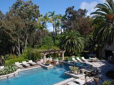 backyard + pool view