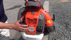 Features of the Husqvarna Blower - Rick Pantano owner of Pantano Power Equipment Leaf Blower, Lawn Care, Outdoor Power Equipment, Landscaping, Leaves, Products, Lawn Maintenance, Yard Landscaping, Landscape Architecture