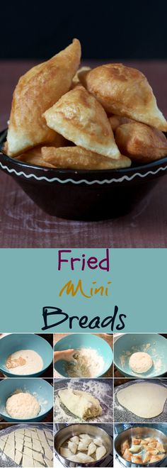 Fried Mini Breads – Balkan Lunch Box Make yours a perfect bite with these savory pastries with a hundred names: Balkan fried mini breads (peksimeti). Albanian Recipes, Albanian Food, Serbian Food, Macedonian Food, Savory Pastry, Love Food, Yummy Treats, The Best, Fries
