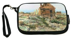 UKBK Childe Hassam Art Pont Royal Paris - Neoprene Clutch Wristlet with Safety Closure - Ideal case for Camera, Cell Phone, Gameboy, Passport, Cosmetics case, Universal Cell Phone Case etc.. *** Unbelievable  item right here!