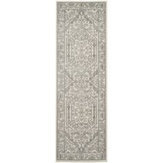 Safavieh Adirondack Ivory/ Silver Rug (2'6 x 12') | Overstock™ Shopping - Great Deals on Safavieh Runner Rugs