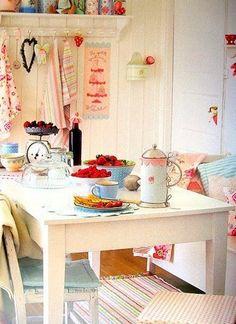 177 best sweet kitchen ideas images on Pinterest | Cottage chic ...