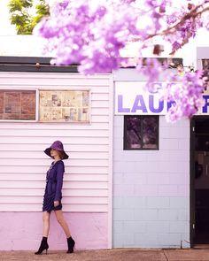 Purple Reign: ru_glamour — LiveJournal Purple Rain, Fashion Shoot, Editorial Fashion, Marie Claire Australia, Lilac, Lavender, All Things Purple, Shades Of Purple, Plum Purple