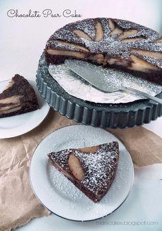 Mari's Cakes (English): Chocolate Pear Cake