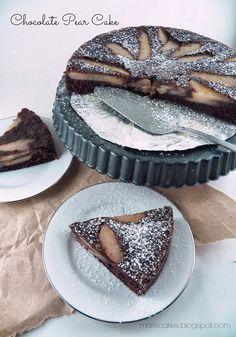 Bizcocho de Chocolate y Pera, Mari's Cakes