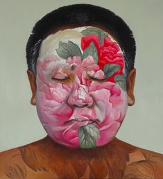 Huang Yan, Dream of the Peony. Oil on canvas, 2008.