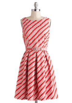 Candy Button Beauty Dress on Modcloth - I think this would be darling for a Valentine's Dinner/Lunch/Brunch :)