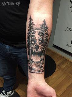 Forest dotwork
