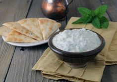 This tzatziki recipe is one of Bob's favorite to make and the family's to eat! So easy to make this tzatziki recipe is great for a snack, appetizer for a
