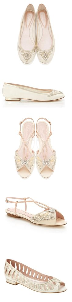 Beautiful bridal flats