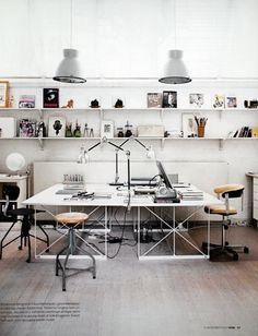 double desk office - Google Search