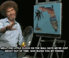 20 Essential Life Lessons From Bob Ross Rn Humor, Medical Humor, Nurse Humor, Bob Ross Quotes, Hospital Humor, Night Shift Nurse, Happy Little Trees, Bob Ross Paintings, Nursing Memes