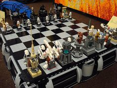 Star Wars Lego Chess Set.
