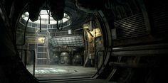 Dead Space 3 Interior by Beat Reichenbach
