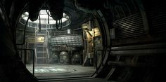 Dead Space 3 Interior by Beat Reichenbach