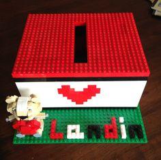 Lego Valentine box!